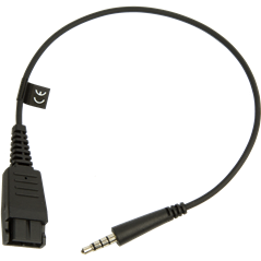 Jabra Quick Disconnect (QD) to 3.5 mm Jack Cord